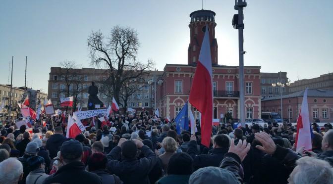 Częstochowa dla demokracji 19 grudnia 2015