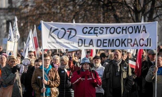 Marsz poparcia dla wolnych mediów