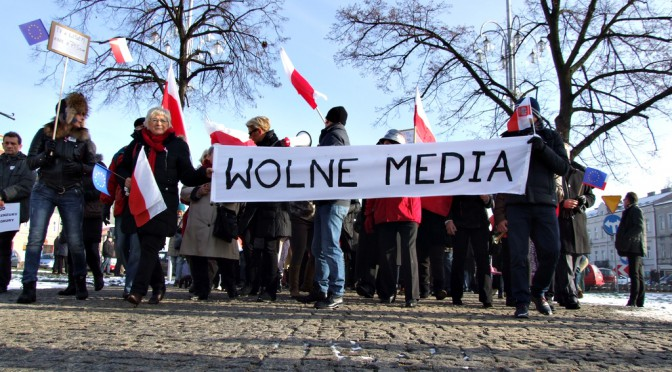 """Manifestacja """"Wolne Media"""" – bronimy wolności słowa"""