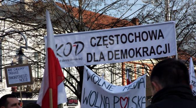 Oświadczenie grupy KOD Częstochowa