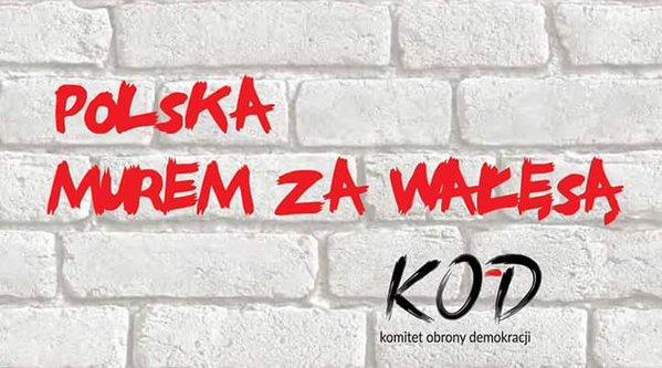 Polska murem za Wałęsą