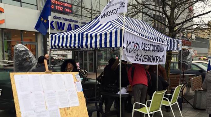 Zbieranie podpisów pod projektem ustawy o TK – 12.03.16