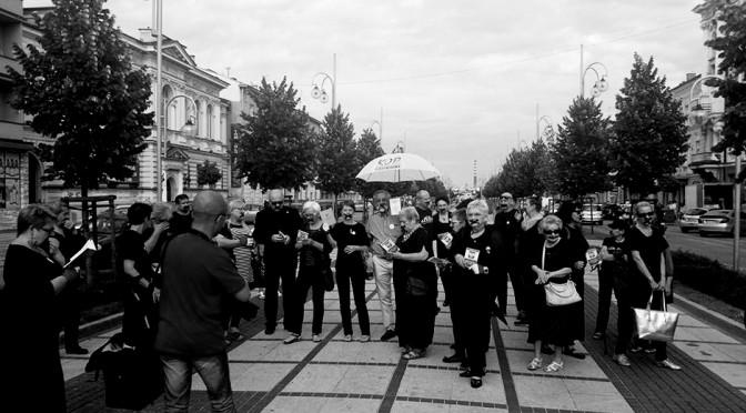 Czarny protest w Częstochowie