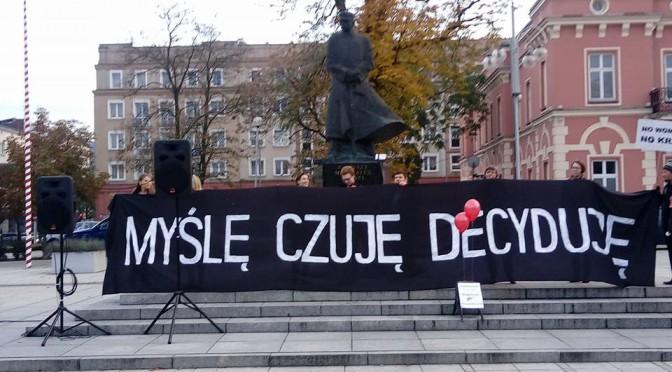 Czarny Protest Kobiet w Częstochowie – runda 2.