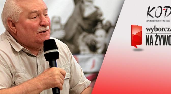 """Spotkanie z Prezydentem Lechem Wałęsą """"Porozmawiajmy o Polsce"""""""