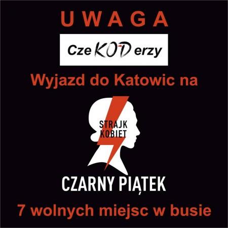 Czarny protest - katowice 24.03